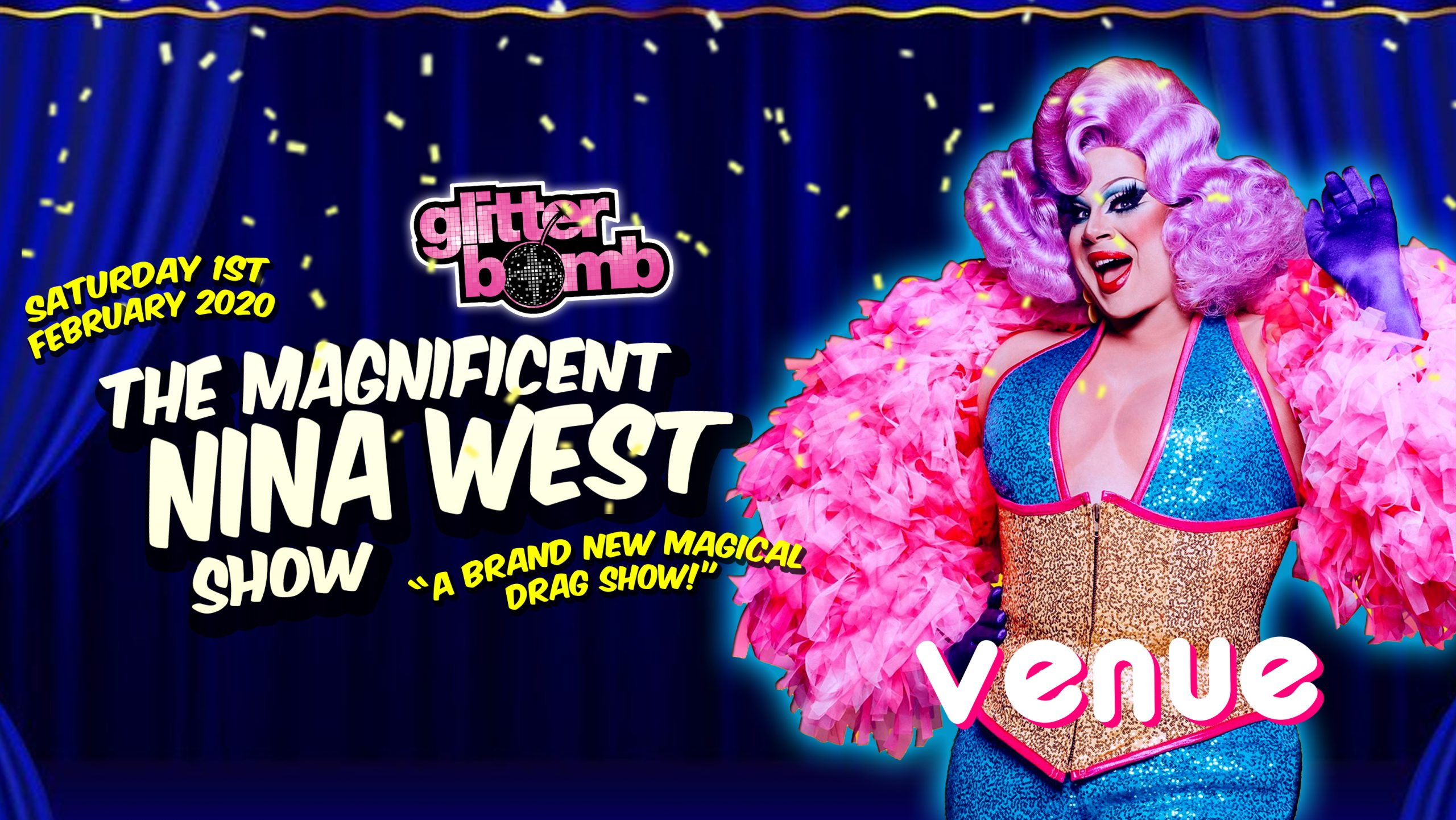 Nina West in Canterbury