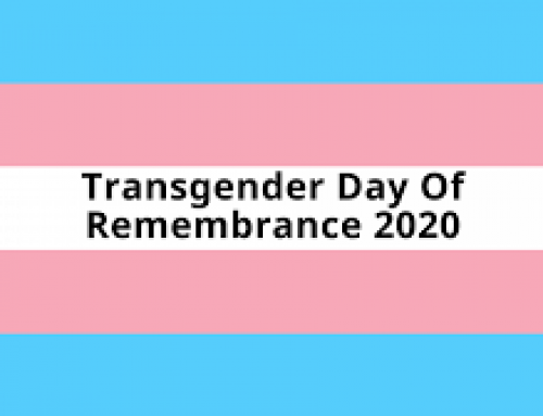 Friday, November 20, Transgender Day of Remembrance