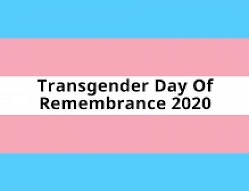 Friday, November 20, Transgender Day of Remembrance